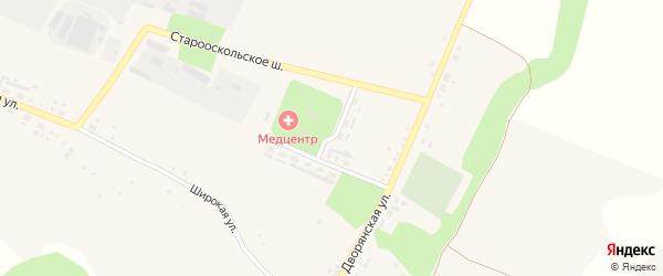 Голофеевская улица на карте села Орлика с номерами домов