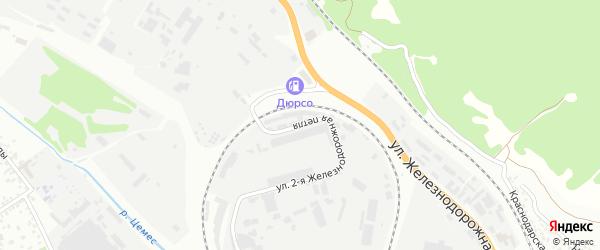 Ж/д петля 2-я улица на карте села Кирилловки с номерами домов