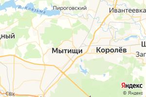 Карта г. Мытищи