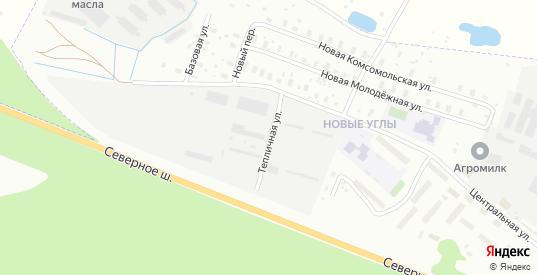 Тепличная улица в Череповце с номерами домов на карте. Спутник и схема онлайн