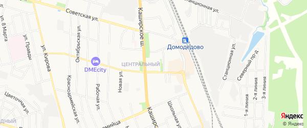 Территория Русь-Лямцино-3 на карте Домодедово с номерами домов