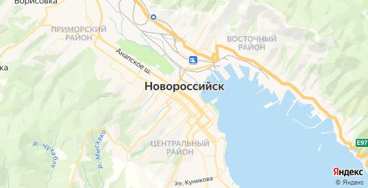 Карта Новороссийска с улицами и домами подробная. Показать со спутника номера домов онлайн