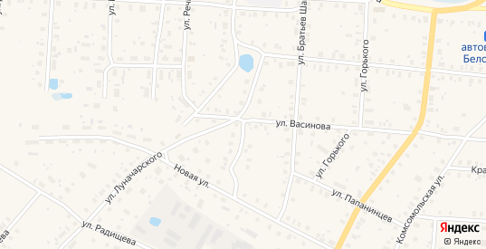 Улица Космонавтов в Белозерске с номерами домов на карте. Спутник и схема онлайн
