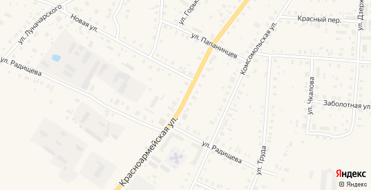 Красноармейская улица в Белозерске с номерами домов на карте. Спутник и схема онлайн