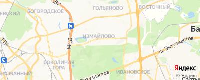Ножин Сергей Юрьевич, адрес работы: г Москва, ул Первомайская, д 42