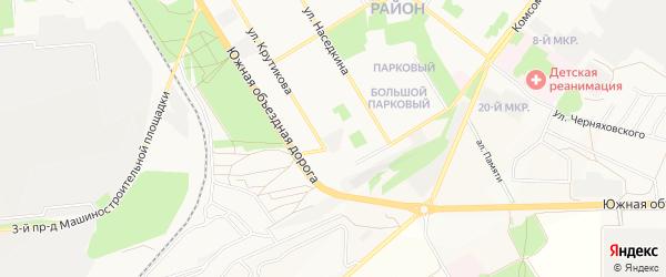 ГСК Домостроитель на карте Старого Оскола с номерами домов