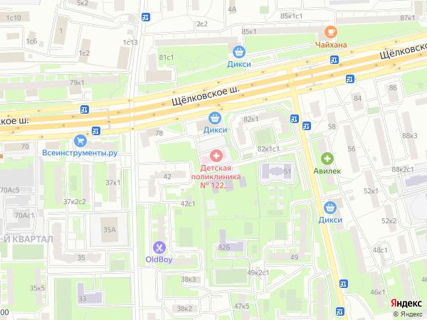 Детская городская поликлиника  30 района на ул Поклонная