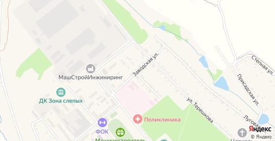 Заводская улица в Болохово с номерами домов на карте. Спутник и схема онлайн