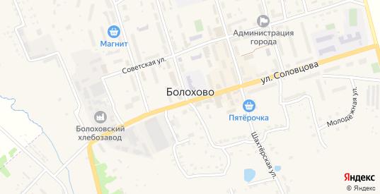Площадь Ленина в Болохово с номерами домов на карте. Спутник и схема онлайн
