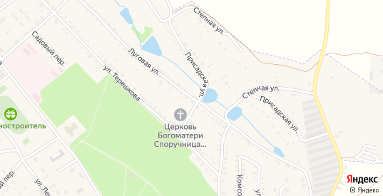 Луговая улица в Болохово с номерами домов на карте. Спутник и схема онлайн