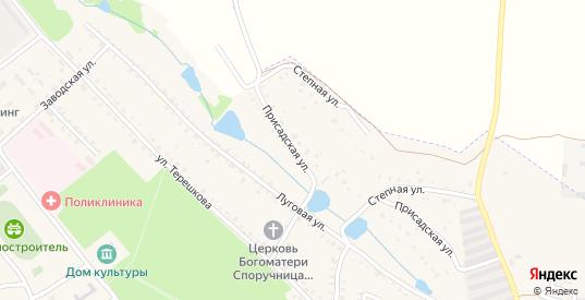 Присадская улица в Болохово с номерами домов на карте. Спутник и схема онлайн
