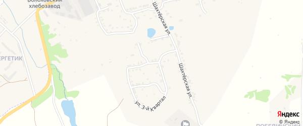 Улица 3-й квартал на карте Болохово с номерами домов