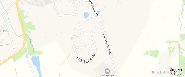 Шахтерская улица на карте Болохово с номерами домов