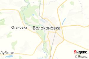 Карта пос. Волоконовка Белгородская область