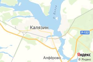 Карта г. Калязин Тверская область