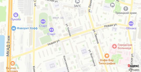 Новая улица в Реутове с номерами домов на карте. Спутник и схема онлайн