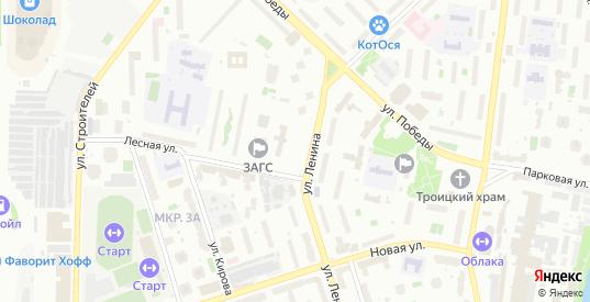 Коммунальный проезд в Реутове с номерами домов на карте. Спутник и схема онлайн