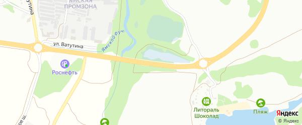 Южная объездная дорога на карте Старого Оскола с номерами домов