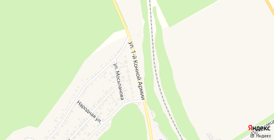Улица Первой Конной Армии в Новом Осколе с номерами домов на карте. Спутник и схема онлайн