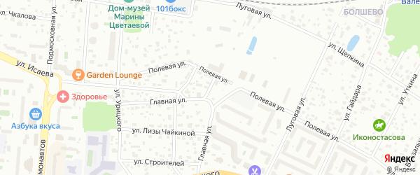 Высоковольтный проезд на карте Королёва с номерами домов