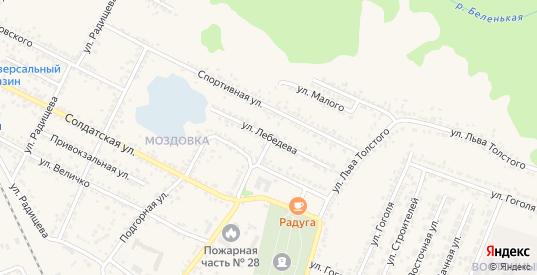 Улица Лебедева в Новом Осколе с номерами домов на карте. Спутник и схема онлайн