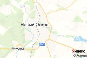 Карта г. Новый Оскол Белгородская область