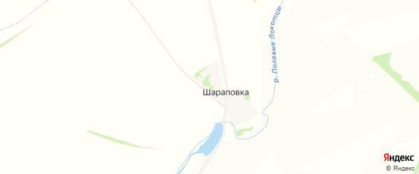 Карта деревни Шараповки в Липецкой области с улицами и номерами домов