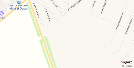 Абрикосовая улица в Новом Осколе с номерами домов на карте. Спутник и схема онлайн