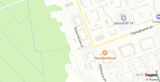 Будьковская улица в Череповце с номерами домов на карте. Спутник и схема онлайн