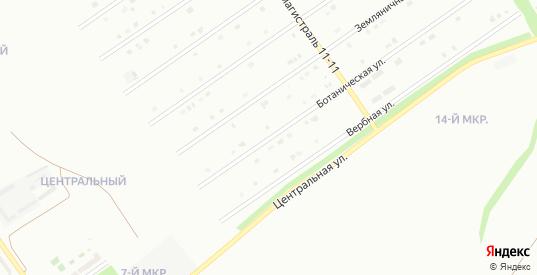 Ботаническая улица в Старом Осколе с номерами домов на карте. Спутник и схема онлайн