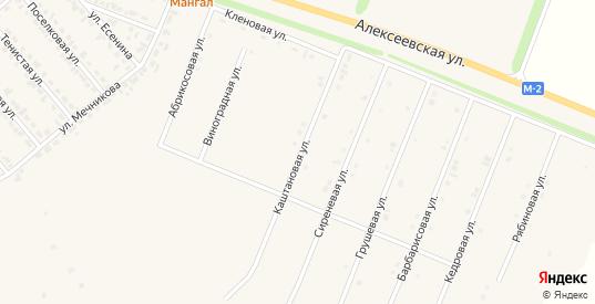 Каштановая улица в Новом Осколе с номерами домов на карте. Спутник и схема онлайн