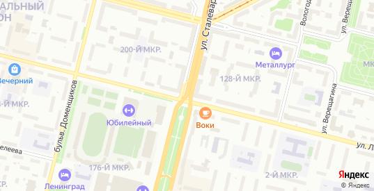 2-й Биржевой проезд в Череповце с номерами домов на карте. Спутник и схема онлайн