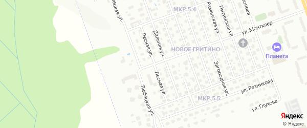 Лесная улица на карте Череповца с номерами домов