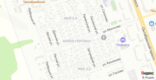 Ильинская улица в Череповце с номерами домов на карте. Спутник и схема онлайн