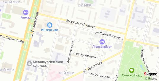 Бородинская улица в Череповце с номерами домов на карте. Спутник и схема онлайн