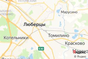 Карта г. Люберцы Московская область