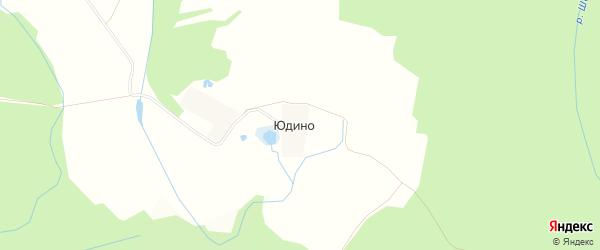 Карта деревни Юдино в Московской области с улицами и номерами домов