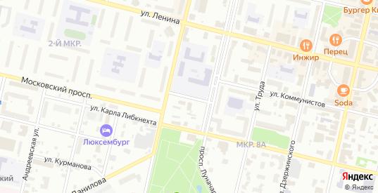 Пушкинская улица в Череповце с номерами домов на карте. Спутник и схема онлайн