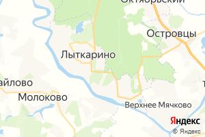 Карта г. Лыткарино Московская область