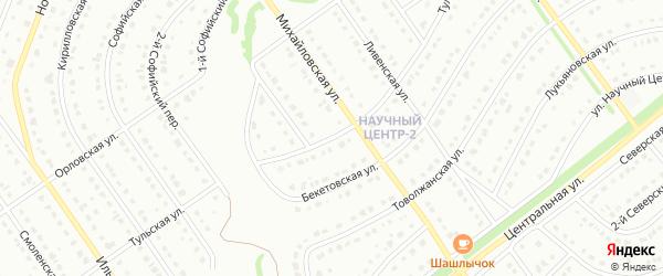 Тульская улица на карте Старого Оскола с номерами домов