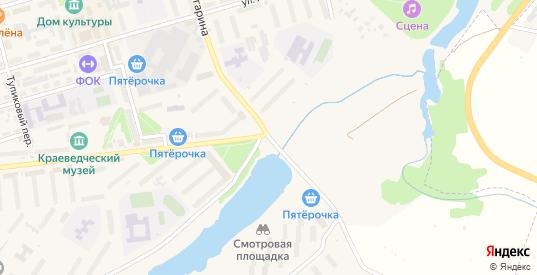 Заречная улица в Киреевске с номерами домов на карте. Спутник и схема онлайн