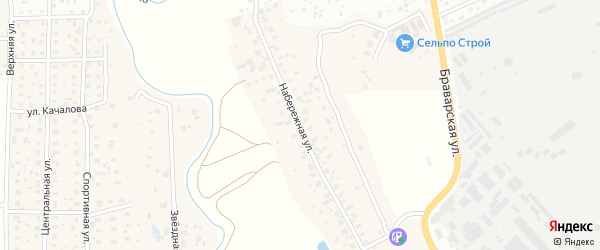 Набережная улица на карте поселка Образцово с номерами домов