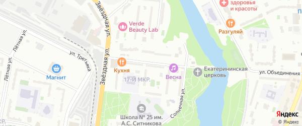Московский бульвар на карте Балашихи с номерами домов