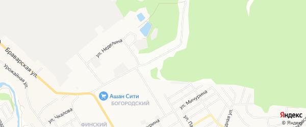 Садовое товарищество Восход-4 на карте Щелково с номерами домов