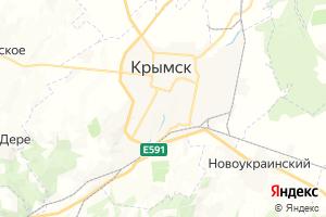 Карта г. Крымск Краснодарский край