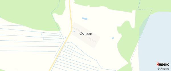 Карта деревни Острова в Московской области с улицами и номерами домов