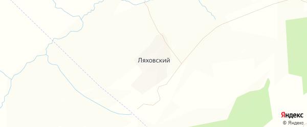 Карта Ляховского поселка в Тульской области с улицами и номерами домов