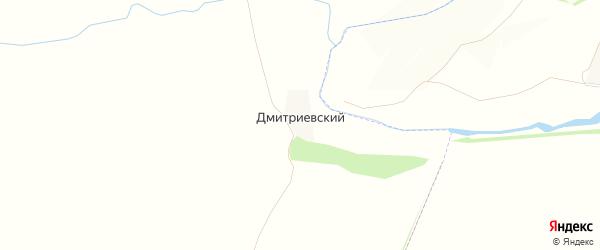Карта Дмитриевского поселка в Орловской области с улицами и номерами домов