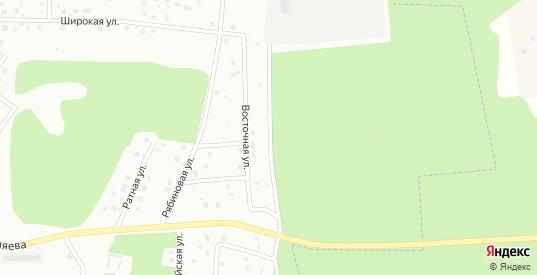 Восточная улица в Череповце с номерами домов на карте. Спутник и схема онлайн