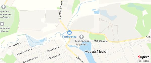 Новый ГСК на карте Балашихи с номерами домов